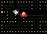 Pacman-game-with-a-shark-and-octopus