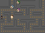 Pacman-game-with-potions-and-grannies