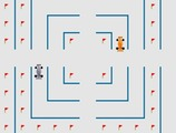 Pacman-game-with-formula-1
