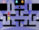 Pacman-game-with-white-balls