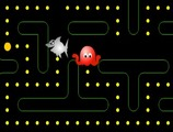 Juego-pacman-con-un-tiburon-y-pulpo